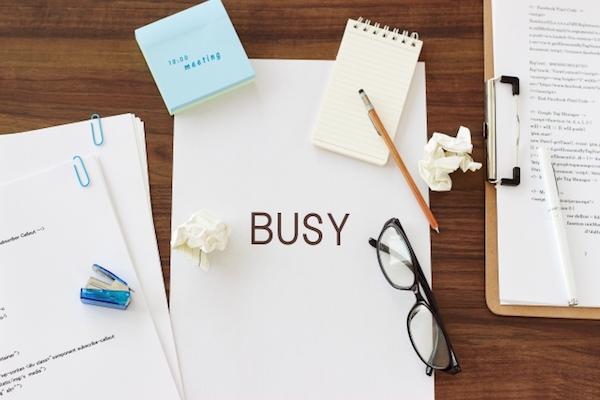 事務作業に追われる日々